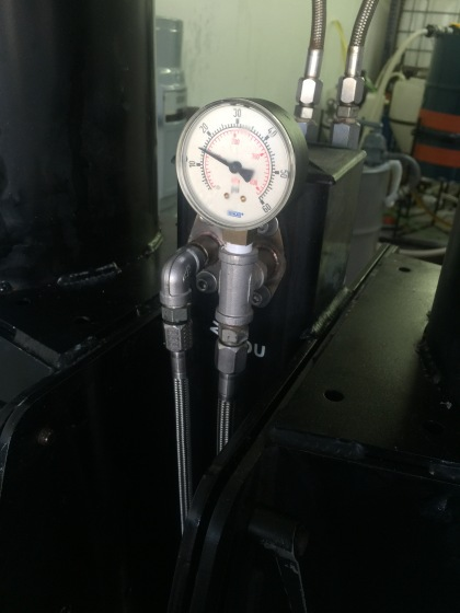 ion exchange pressure guage